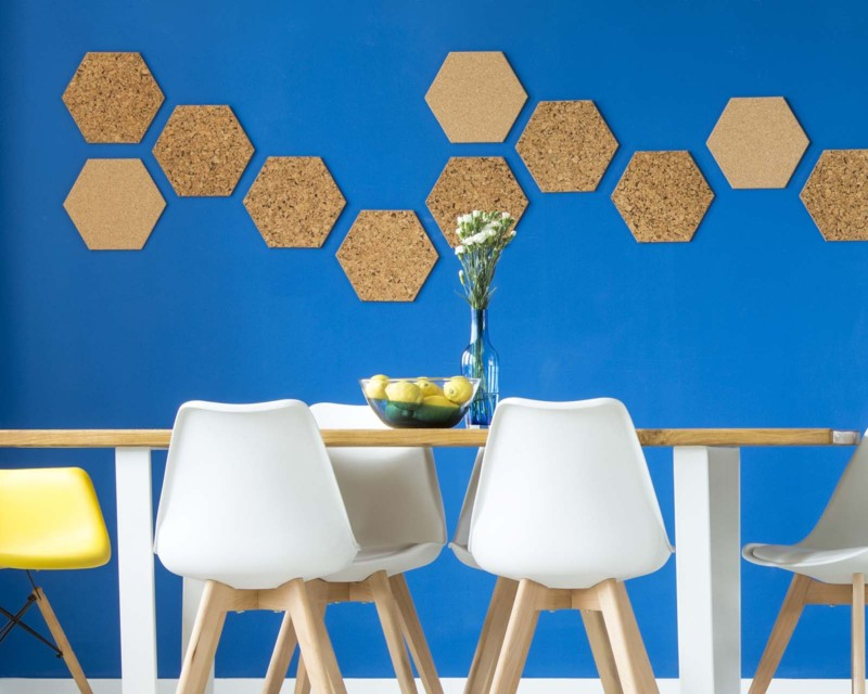 hexagon cork